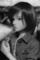 Lincoln is back! (Sendell_Caramdir) Tags: doll sd wig bjd luts legit leeke mihael leekeworld
