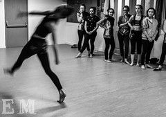 Signs of Movement Project (EmilyMoorby) Tags: blackandwhite contrast dance movement dancing dancer talent northeast watermark shutterspeed hartlepool