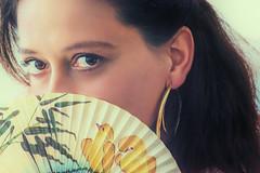Brown Eyes (juliaeisenbraun) Tags: julia augen fächer braune