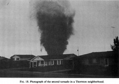June 3, 1981 - Image of the Thornton, CO tornado. (NCAR)