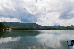 banyoles (Cris_Figueras) Tags: relax cel cielo blau pau reflexe banyoles estany