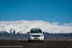 Slheimasandur (www.chriskench.photography) Tags: travel ford car is iceland nikon automobile europe escape 4x4 south vehicle motor d700 kenchie wwwchriskenchphotographycom