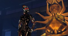 Something Wicked... (Kimiko Mazoku) Tags: club fight cyborg k9 quanyin insilico
