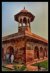 Agra IND - Taj Mahal East Gate chatri