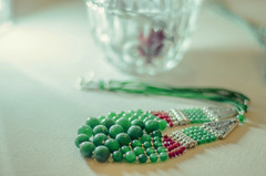 Emerald and ruby necklace (fjmian) Tags: oriental jewelry jayqueexpressions productphotography peshawar pakistan