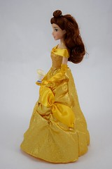 2016 Belle Classic 12'' Doll - US Disney Store Purchase - Deboxed - Standing - Full Right Side View (drj1828) Tags: disneystore doll 12inch classicprincessdollcollection 2016 purchase belle beautyandthebeast chip deboxed standing