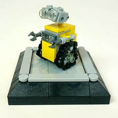 Lego Mini WALLE (tastenmann77) Tags: lego