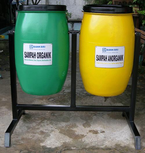 Bri 1 Syafiq Bandung Tags Bank Tong Kota Plastik Desa Organik Sampah