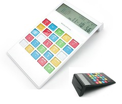 calculator worldtime 3 (DeKresentiaGadget) Tags: souvenirs office gift math calculator stationeries
