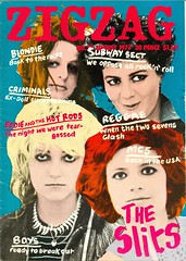 ZIGZAG magazine, August 1977  The Slits (PaulWrightUK) Tags: summer music rock vintage magazine punk culture august pop retro punkrocker 70s punkrock warhol 1970s 1977 seventies zigzag newwave frontcover palmolive ariup theslits johnwalters warholesque punkrockers vivalbertine 70spunk dannybaker tessapollitt krisneeds carolinecoon johntobler arianeforster palomaromero adrianthrills