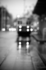 She Loves You For All That You're Not (Thomas Hawk) Tags: sanfrancisco california bw usa rain train unitedstates 10 unitedstatesofamerica fav20 fav30 ftrain fav10 fav25 fav40 superfave