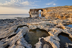 The Azure Window, Gozo (Allard One) Tags: sunset sea nature rock landscape island coast spring nikon republic scenic malta panoramic stlawrence april vista coastline geography maltese lente eclectic harsh mediterraneansea bold archipelago gettyimages 2012 gozo inlandsea azurewindow naturalarch ghawdex ultrawideangle 14mm dwejrabay beautyinnature limestonecaves sanlawrenz 5xp nikcolorefexpro d700 enfuse nikond700 nikkor1424mmf28 mediterraneancountry nikonfx allardone allard1 duohardstrak tieqaerqa fullframepower tablelikerock allardschagercom