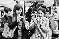Food fascination (D.Prakoso) Tags: blackandwhite food candid streetphotography olympus korea seoul 43 ep2 m43