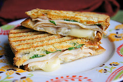 Cajun Turkey & Brie Panini (Kitchen Life of a Navy Wife) Tags: turkey lunch sandwich brie panini cajun
