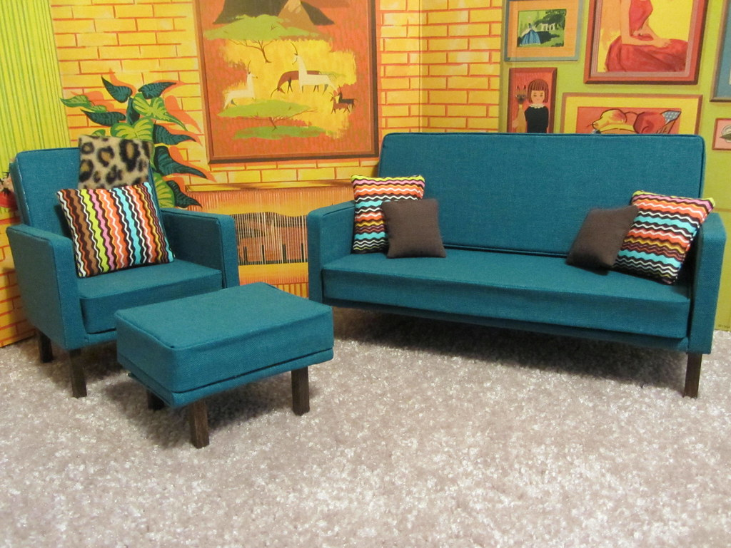 6 of 7 barbie living room furniture tutorial foxy belle tags