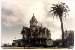 Carson Mansion, Eureka CA (Cole Chase Photography) Tags: california trip architecture oregon canon spring queenanne aviary eureka carsonmansion t3i eurekacalifornia redwoodcoast ingomarclub