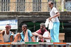 Tata's Rooftop (_Spoutnik) Tags: india tata kolkata calcutta inde bowbazar