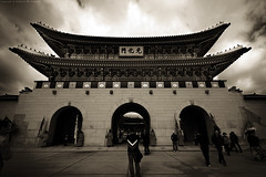 Korea -  (Abdulaziz Al-furaydi) Tags: monochrome museum canon landscape gate d sigma korea national seoul land 1020mm scape 1020 550  550d     canon550         canon550d 550  550 550  1020