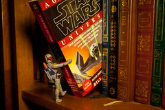144/365 aka Boba Fett Likes to Read (Bradley Nash Burgess) Tags: project actionfigure lumix reading book starwars action books panasonic read hunter boba 365 bookcase bounty empirestrikesback returnofthejedi fett bountyhunter theempirestrikesback project365 gf2 365project boabfett panasoniclumixgf2