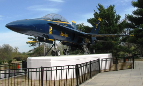 Hornet Jet at St Lous Science Centre