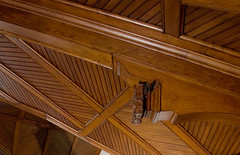 "Wooden Ceiling: Detail • <a style=""font-size:0.8em;"" href=""http://www.flickr.com/photos/76555094@N07/7041822037/"" target=""_blank"">View on Flickr</a>"