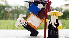 Week 14 (chrisofpie) Tags: life chris cute art nature training project pie outdoors funny lego jester ninja lol super kind adventure liam legos hero superhero knight brave heroes minifig weeks wu mime sensei 52 rofl minifigure klutz minifigures 52weeks stunningphotography legohero whitejester ninjago stunningphotogpin chrisofpie spinjutsu 52weeksofliamthemime