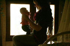 48~52 heartfelt #2 (Vlien*) Tags: light people baby selfportrait love window silhouette dreadlocks self happy shadows mommy daughter motherhood dreads heartfelt 52weeks 4852