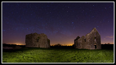 The Castle and the Stars (trevor_durity2000 (Catching Up again!)) Tags: ireland galway night stars corrib astro nightsky headford astrotrac canon7d samyang8mm annaghkeen