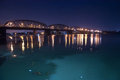 Vivekananda Bridge (Bally Bridge) (Anindya Banerjee) Tags: bridge weekendtrip kolkata ganga ganges bally vivekananda dakshineswar ramkrishna adyapith saradamani professionalphotographeratburdwan photoshootatburdwan digitalstudioburdwan