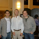 With Matias and John Matthesen, our beloved advisor and partner at Silicon Valley.