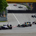 Senna, Kovalainen, Vergne, Ricciardo and Maldonado