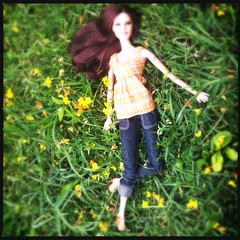 Barbie Summer-Fashion Editorial (AxelStorm) Tags: summer nature fashion model 14 barbie jeans editorial