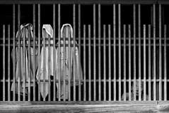 LAZY SUMMER (ajpscs) Tags: street summer bw hot blancoynegro window japan japanese tokyo blackwhite nikon streetphotography oldman monochromatic chiba  nippon  blkwht grayscale  cloths humid undress d300 natsu katori    seasonchange awara  monokuro ajpscs