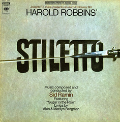 Stiletto (Jim Ed Blanchard) Tags: film vintage movie album vinyl knife jacket cover lp record stiletto sleeve soundtrack switchblade sidramin haroldrobbins
