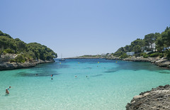 Cala Gran - Mallorca (Piotr Kowalski) Tags: beach island calas mallorca cala majorca balearicislands majorka plaża wyspa zatoka calagran lazur plaże baleary