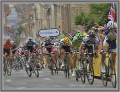 Arrivée du tour de France Boulogne sur mer le 3/07/2012