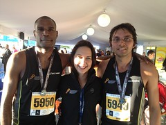 "Jurgean, Nadine and Marius after the 10km • <a style=""font-size:0.8em;"" href=""https://www.flickr.com/photos/64883702@N04/7499528272/"" target=""_blank"">View on Flickr</a>"