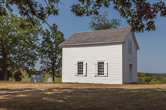 Hauge Log Church - Exterior (bo mackison) Tags: windows wisconsin historicchurch nationalregisterofhistoricplaces driftlessregion canon5dmarkii exteriorofchurch whitecountrychurch haugelogchurch daleysville southewesternwisconsin
