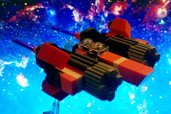 Orange Ship (unhh) Tags: orange starwars lego alt space alternative sebulba ornj