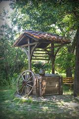 Garden well, Arbanasi (larigan.) Tags: travel vacation holiday wheel garden bench well bulgaria jug balkans touristattraction arbanassi arbanasi oldmerchantshouse larigan phamilton