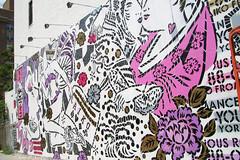 (amolho4) Tags: nyc streetart graffiti aiko ladyaiko