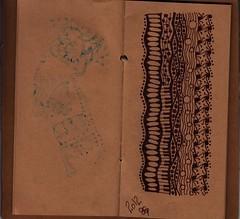 memories notebook, zentangles, 15 (sheridanwild) Tags: notebook memories zentangle