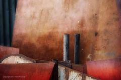 20120721-3317 (Pieter Musterd) Tags: art texture photoshop canon rust arty steel rusty structure 5d pijp roest textuur staal roestig pijpen fotoart musterd colorefexpro pietermusterd canon5dmarkii