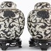 163. Pair of Chinese Sgrafitto Decorated Ginger Jars