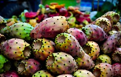 Prickly Pear (Marwa Morgan) Tags: life africa street urban food closeup clouds contrast colorful colours egypt large citylife cairo colourful ramadan egitto afrique  50mmf18 d90  lecaire holymonth  foodanddinkphotography