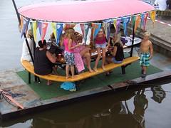 Summer in Langweer (Davydutchy) Tags: haven holland water netherlands port marina august games jeans hanging friesland 2012 fryslân spijkerbroekhangen langweerlangwar