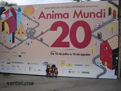 Exposição de 20 anos do Anima Mundi!!