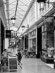 High Street Arcade, Cardiff (cybertect) Tags: wales arcade cardiff shoppingmall highstreetarcade canonfd24mmf28 panasonicg2