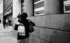 Holding on (Ian Brumpton) Tags: blackandwhite bw blancoynegro monochrome blackwhite noiretblanc britain streetshots streetphotography streetportrait streetlife londres biancoenero sidewalkstories londonstreetphotography lifeinslowmotion scattidistrada ianbrumpton aimlessstrolling blackwhiteheartbeats londonatlarge