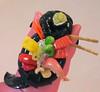 Mane Sushi platter (RequiemArt.com) Tags: art sushi japanese little ooak pony customized ponies requiem platter sculpted dgrequiem requiemart